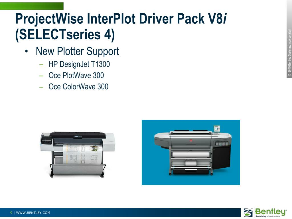 ProjectWise InterPlot Driver Pack V8