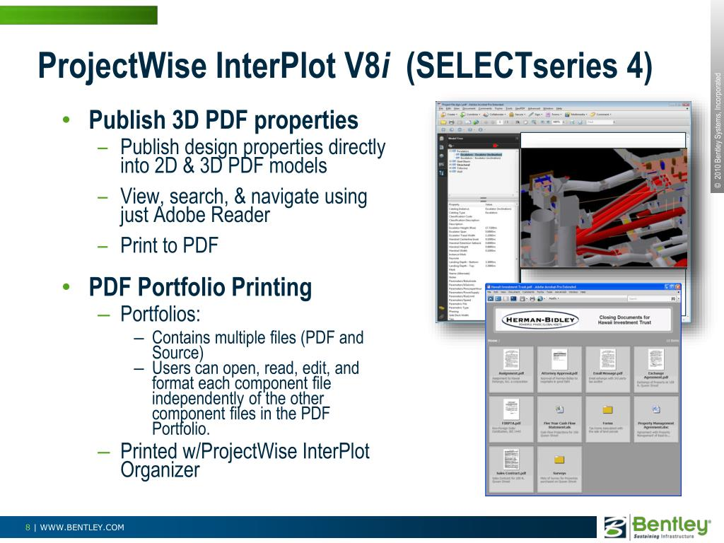 ProjectWise InterPlot V8