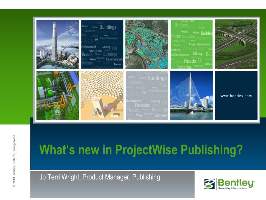 What's new in ProjectWise Publishing?