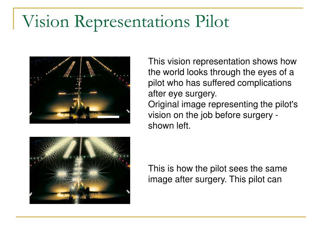 Vision Representations Pilot