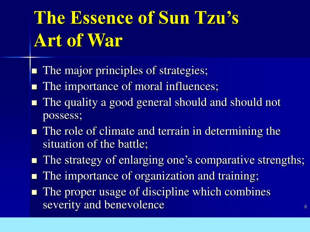 The Essence of Sun Tzu's