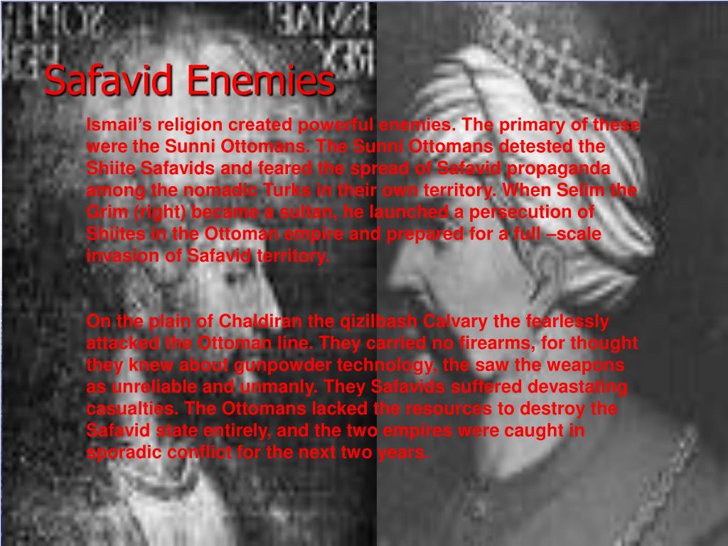 Safavid Enemies