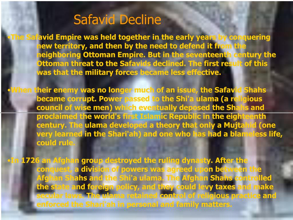 Safavid Decline
