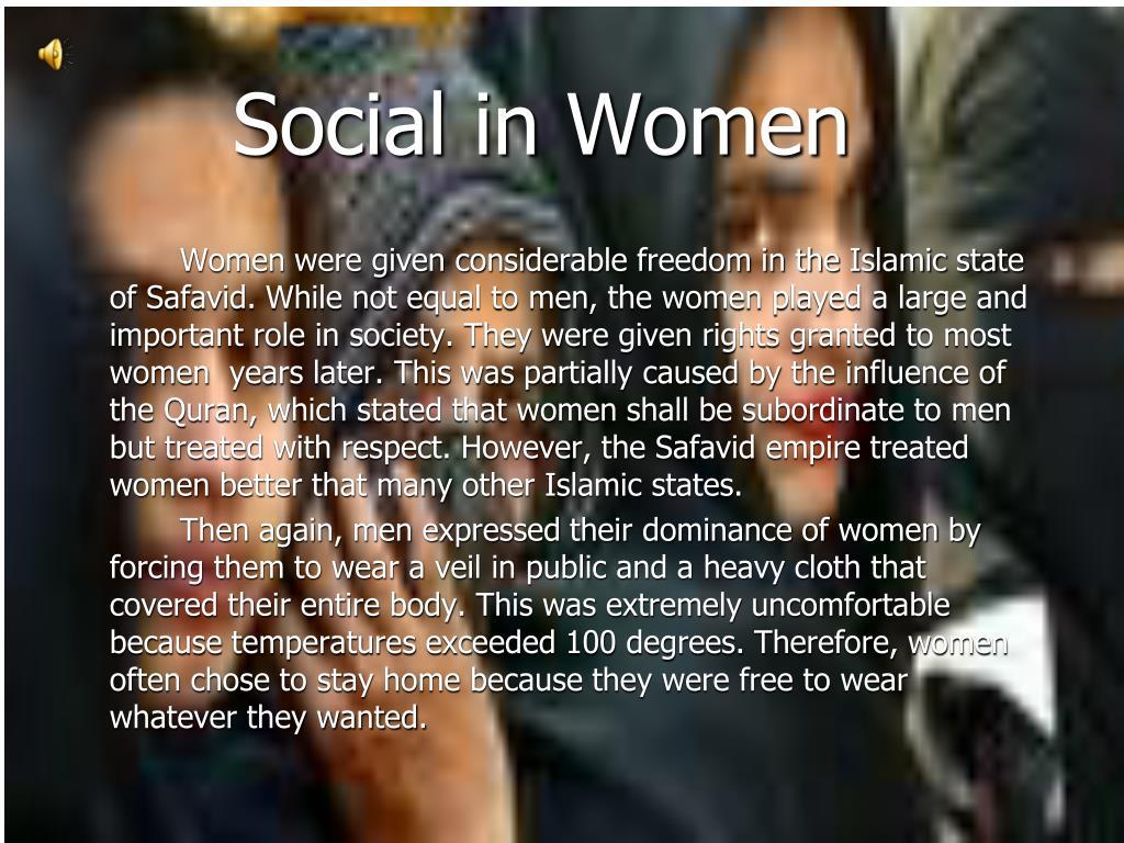 Social in Women