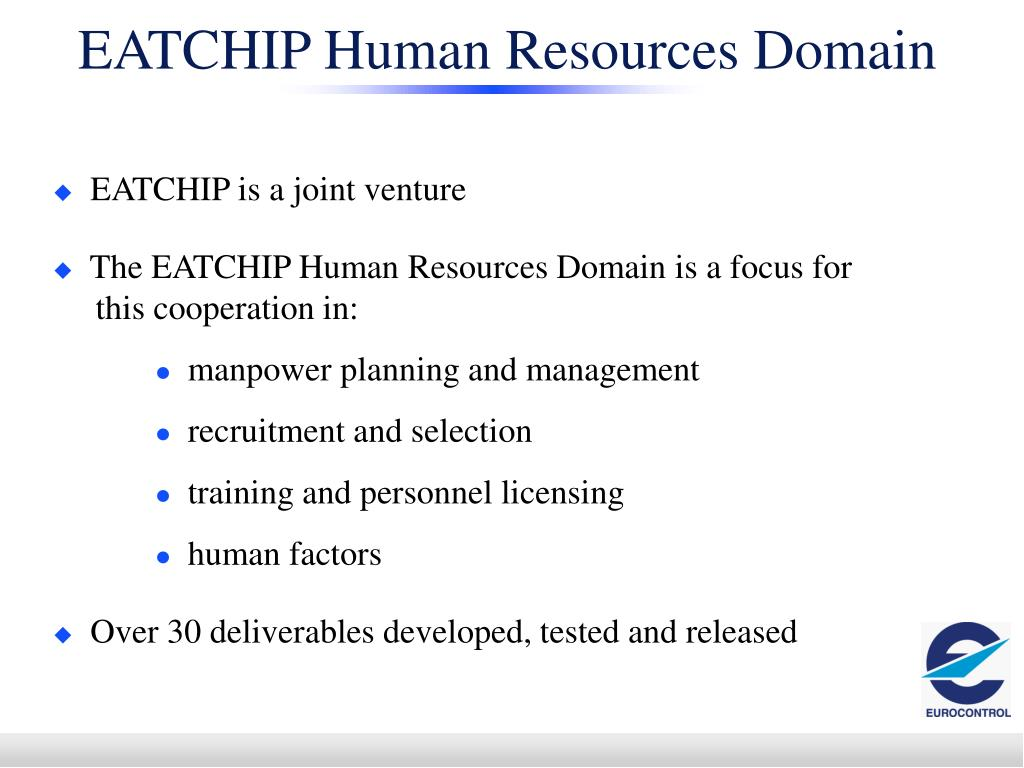 EATCHIP Human Resources Domain