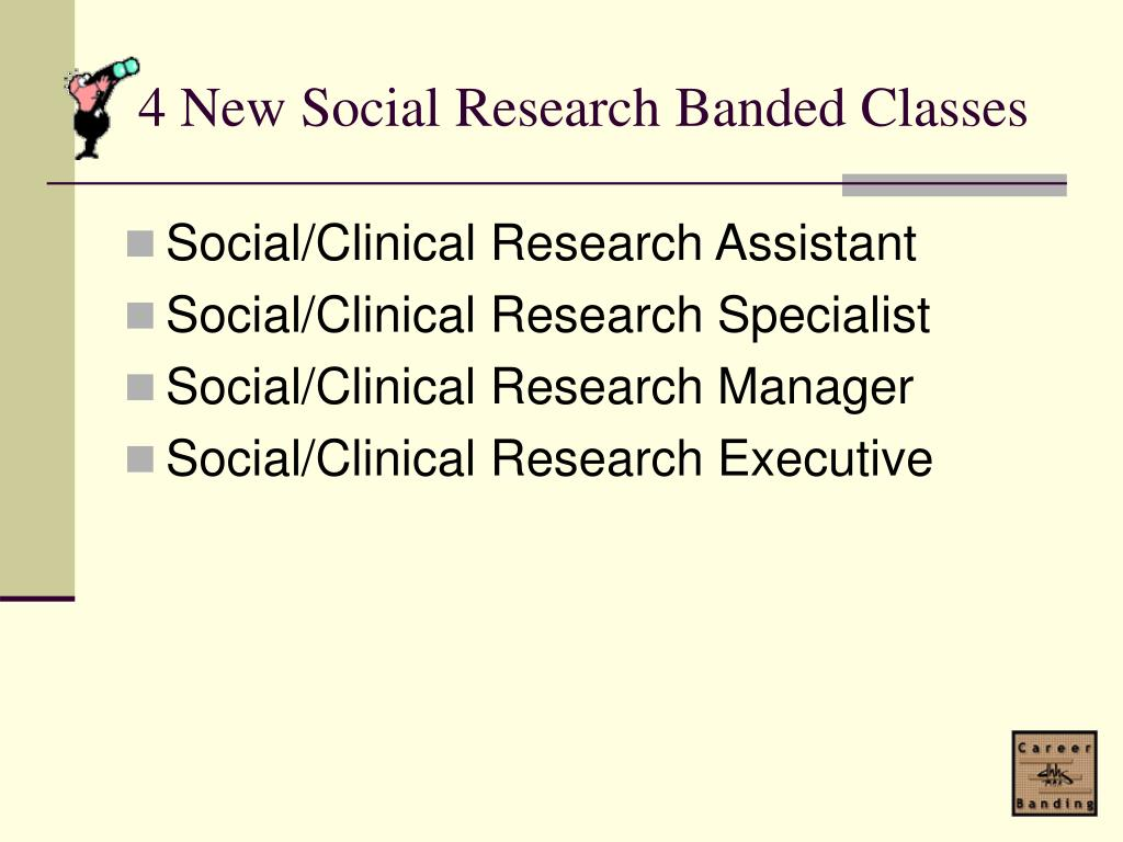 4 New Social Research Banded Classes