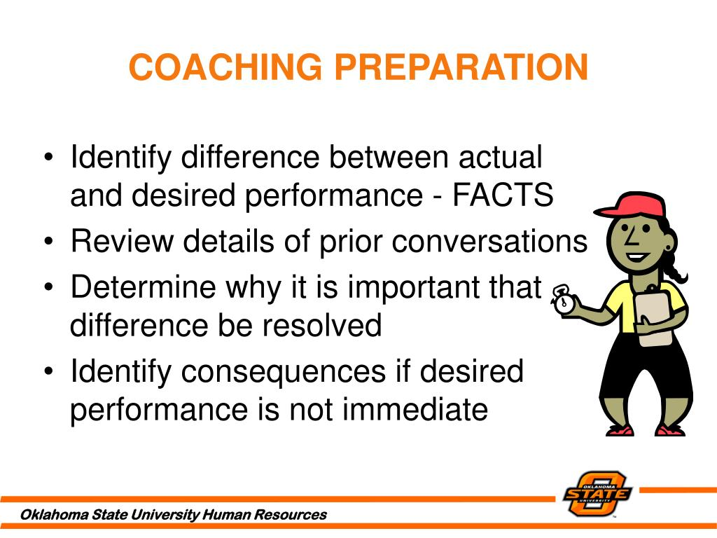 COACHING PREPARATION