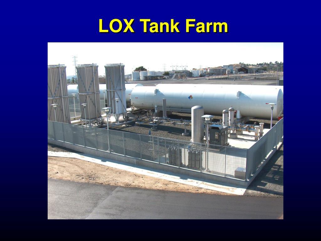 LOX Tank Farm