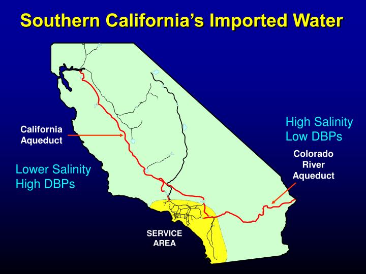 Southern california s imported water