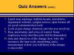 quiz answers cont27