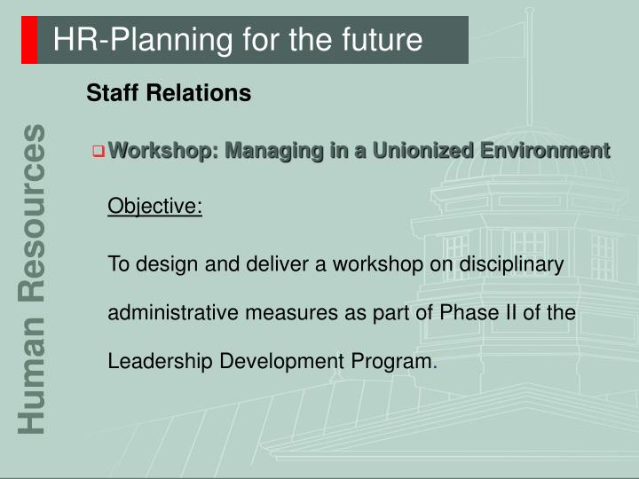 Hr planning for the future3