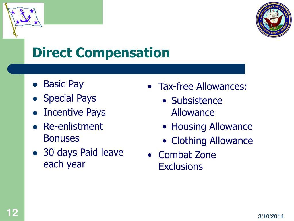 Direct Compensation