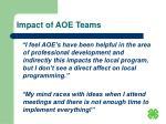 impact of aoe teams25