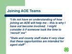 joining aoe teams18