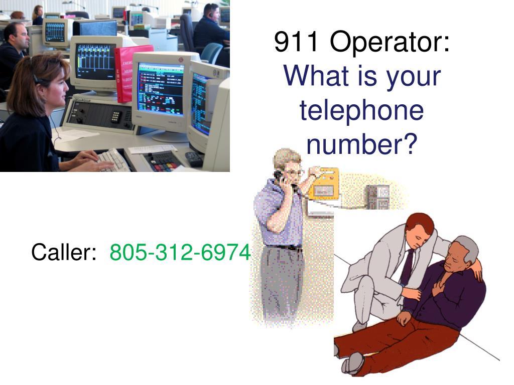 911 Operator: