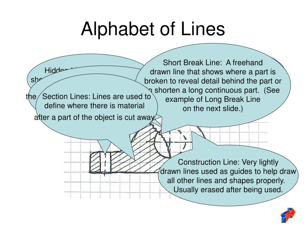 Object Line:  Thick lines