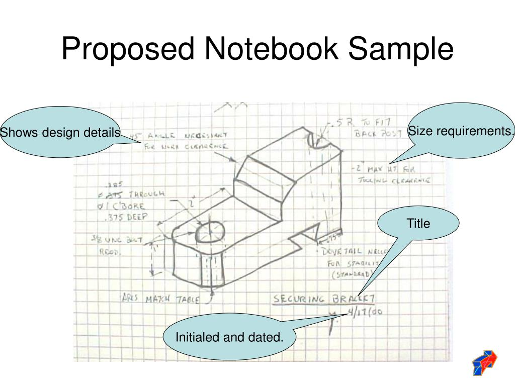 Proposed Notebook Sample