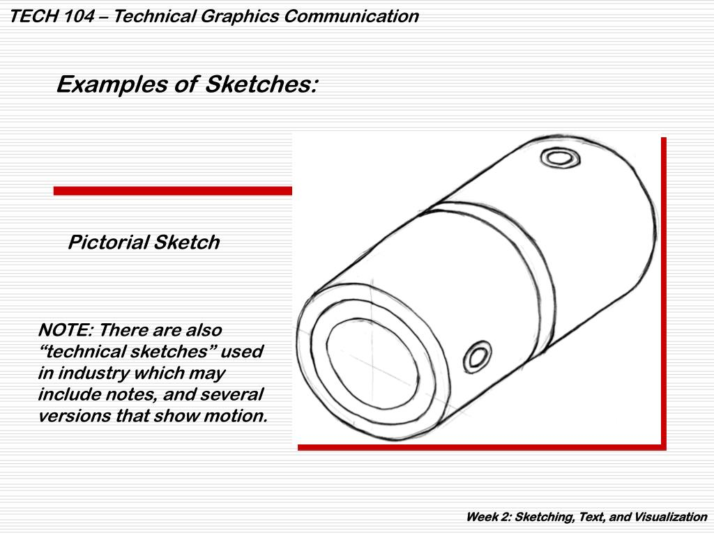 Examples of Sketches: