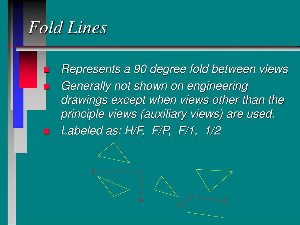 Fold Lines