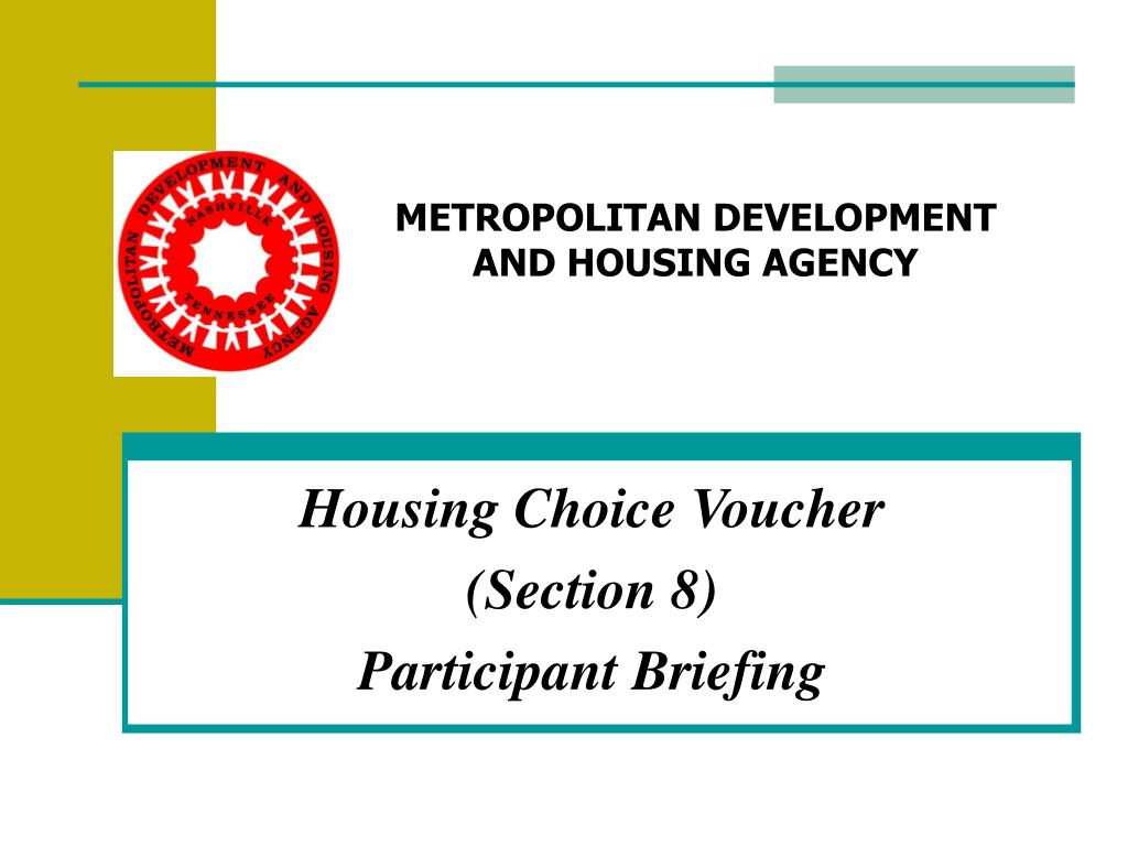 section 8 housing choice voucher - ppt section 467 rental ...