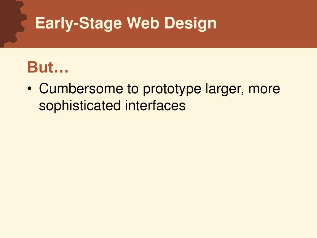 Early-Stage Web Design