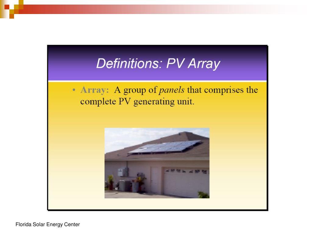 Florida Solar Energy Center
