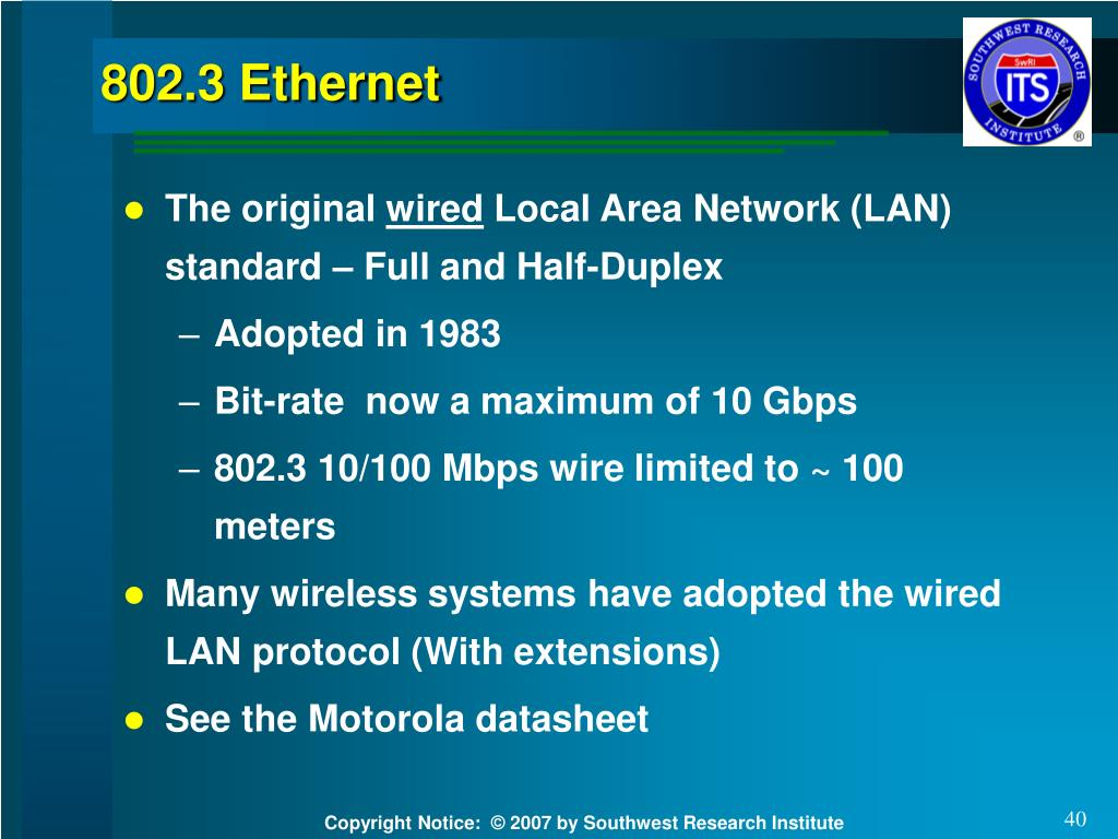 802.3 Ethernet