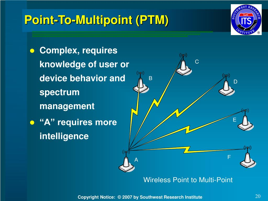 Point-To-Multipoint (PTM)