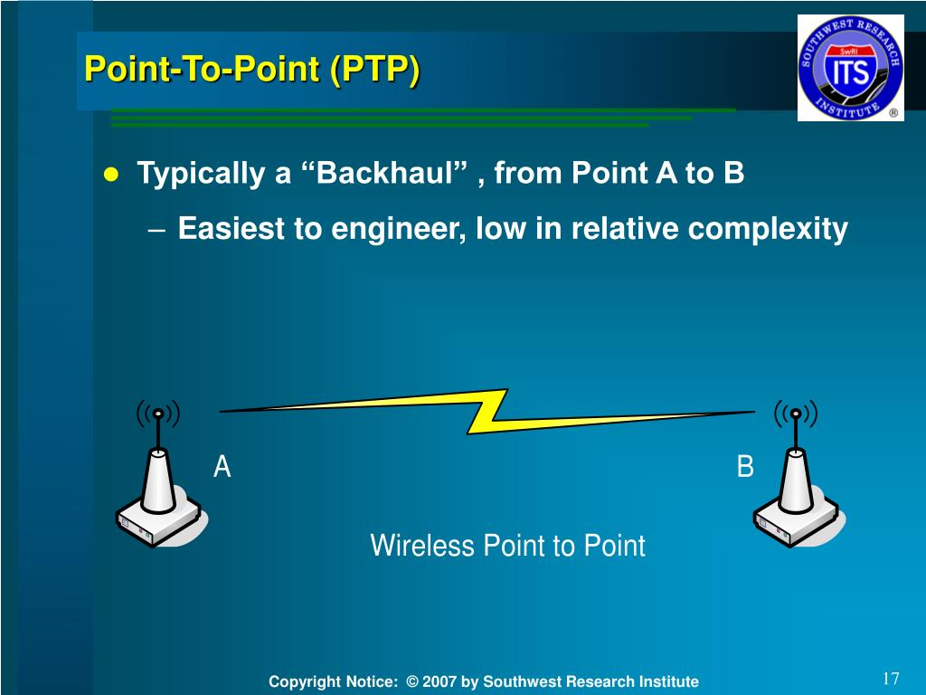 Point-To-Point (PTP)