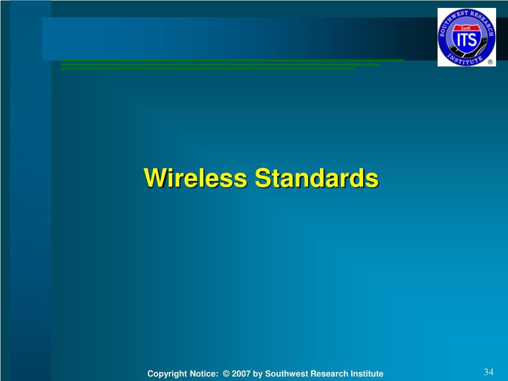 Wireless Standards