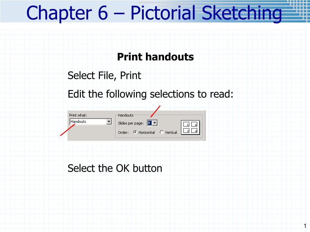 Print handouts