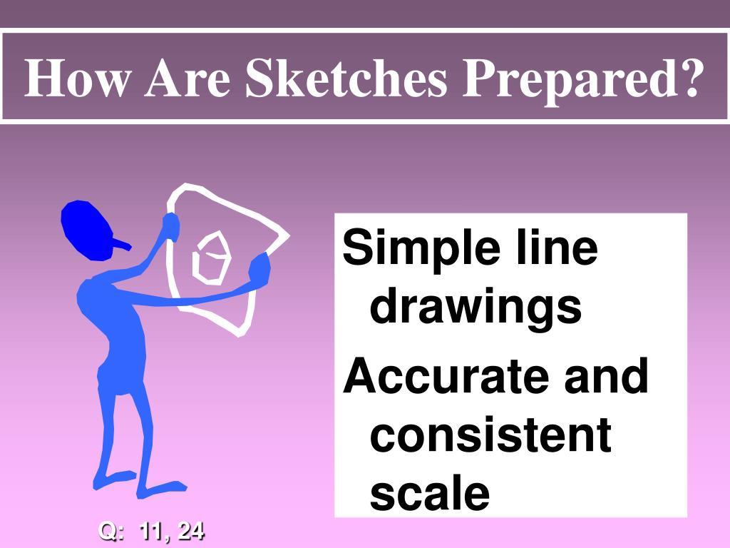 How Are Sketches Prepared?