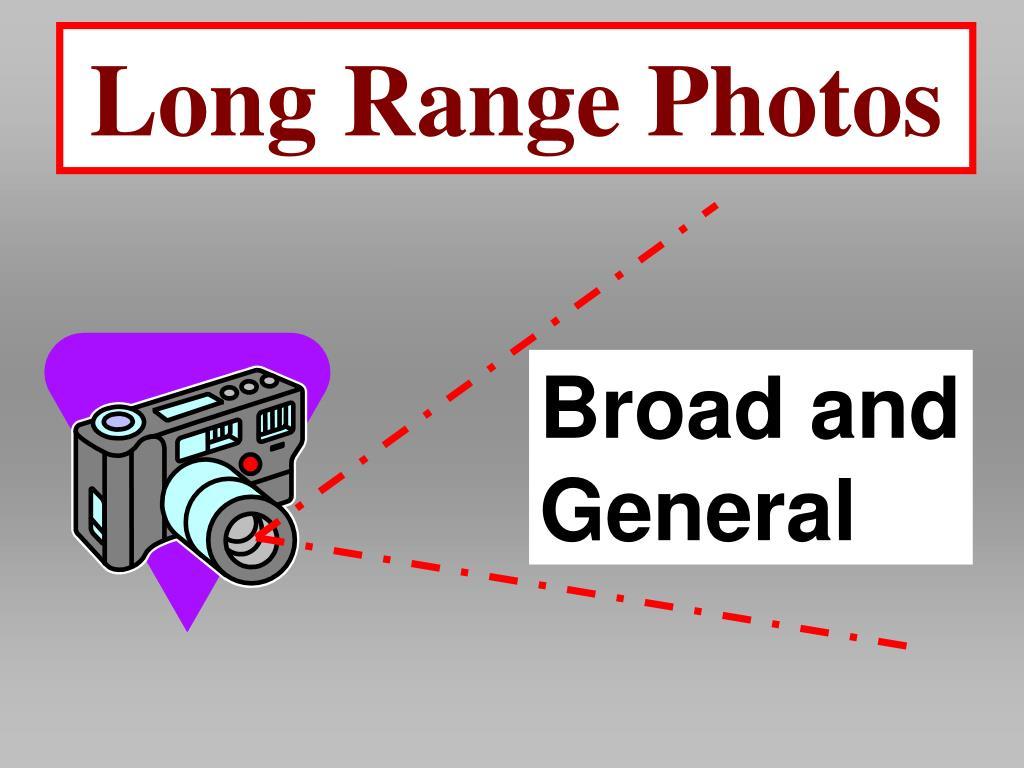 Long Range Photos