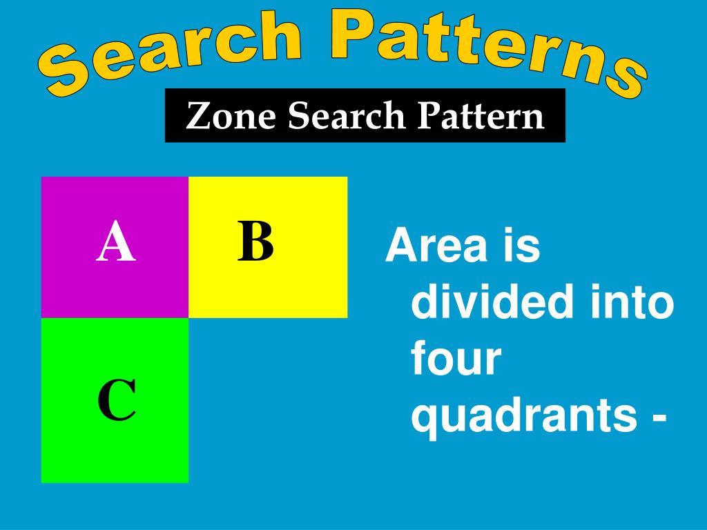 Search Patterns