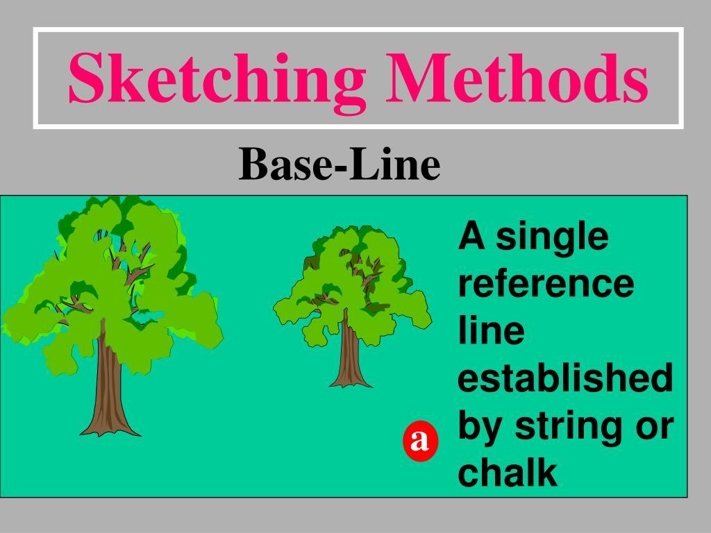 Sketching Methods