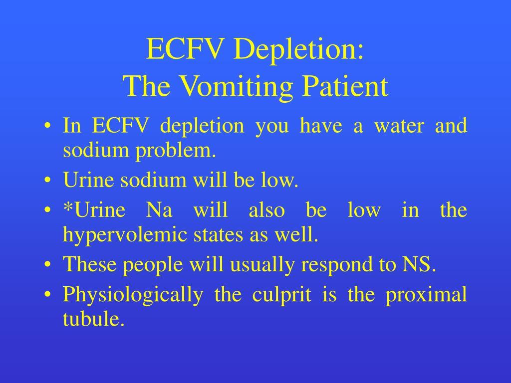 ECFV Depletion: