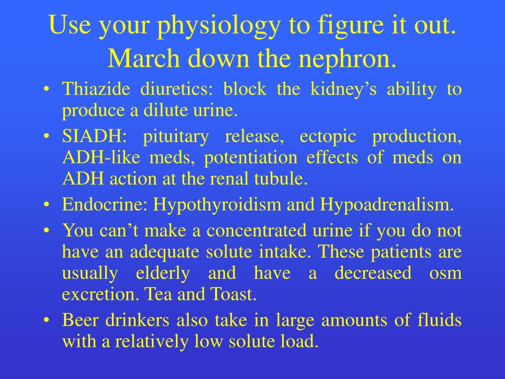 Use your physiology to figure it out.