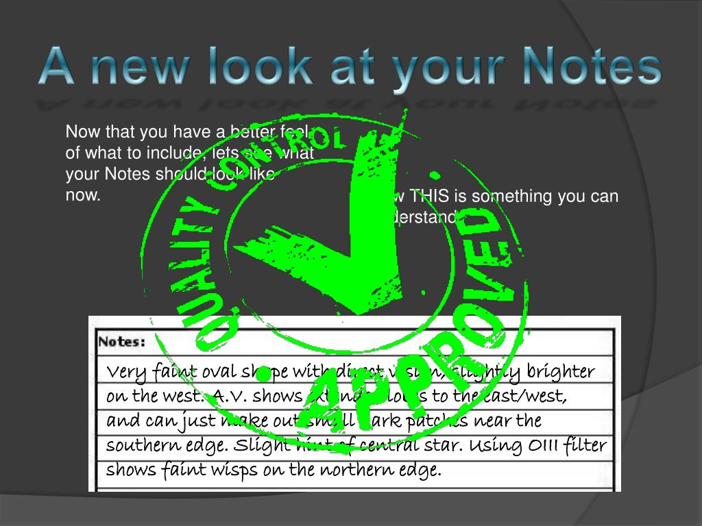 A new look at your Notes