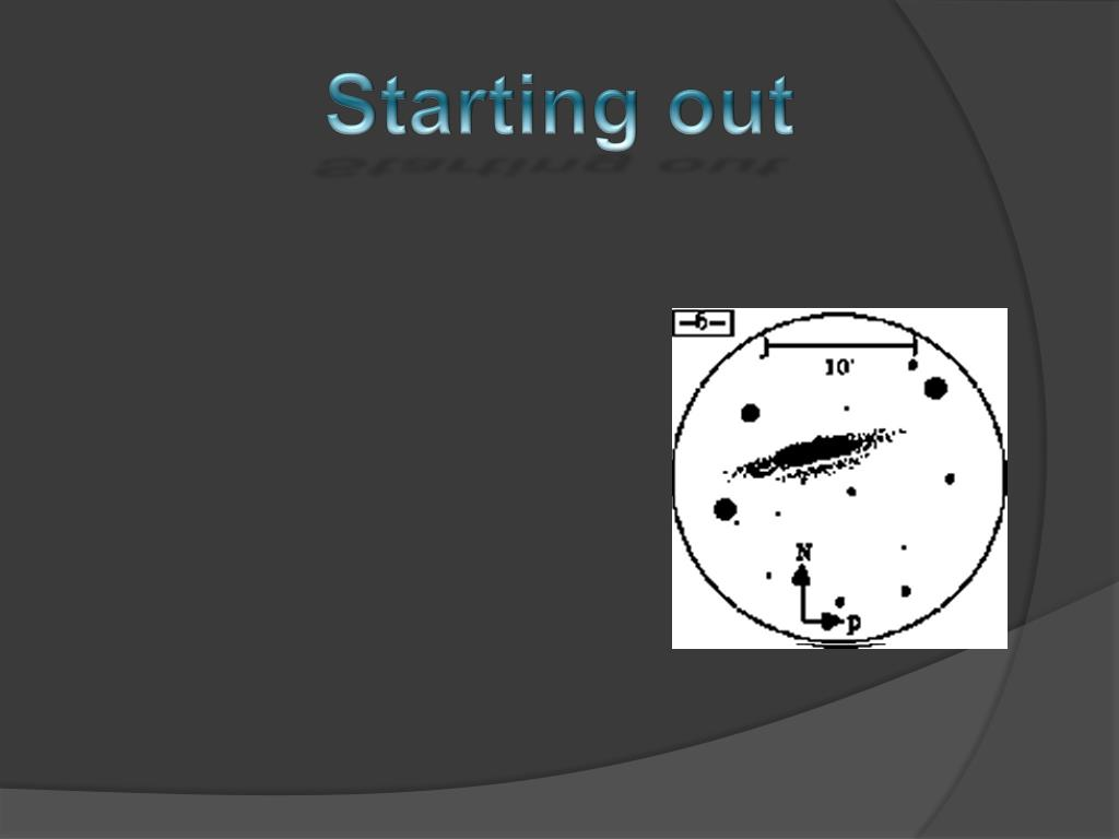 Establish your starting point by adding the brightest stars in the field. Stars around the edges work to help you with your spacing.