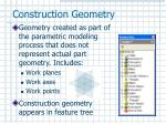construction geometry