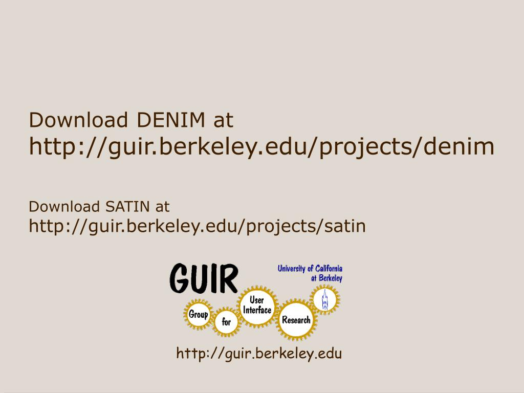 http://guir.berkeley.edu