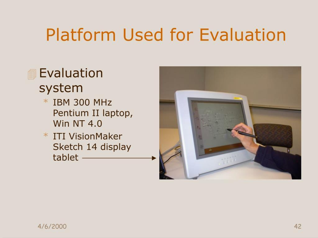 Platform Used for Evaluation
