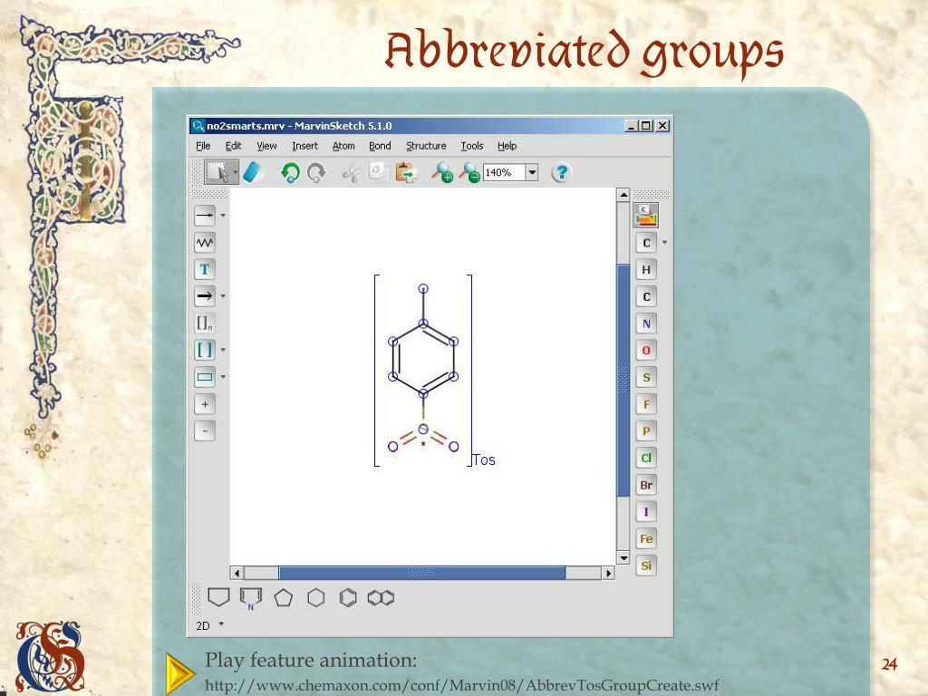 Abbreviated groups