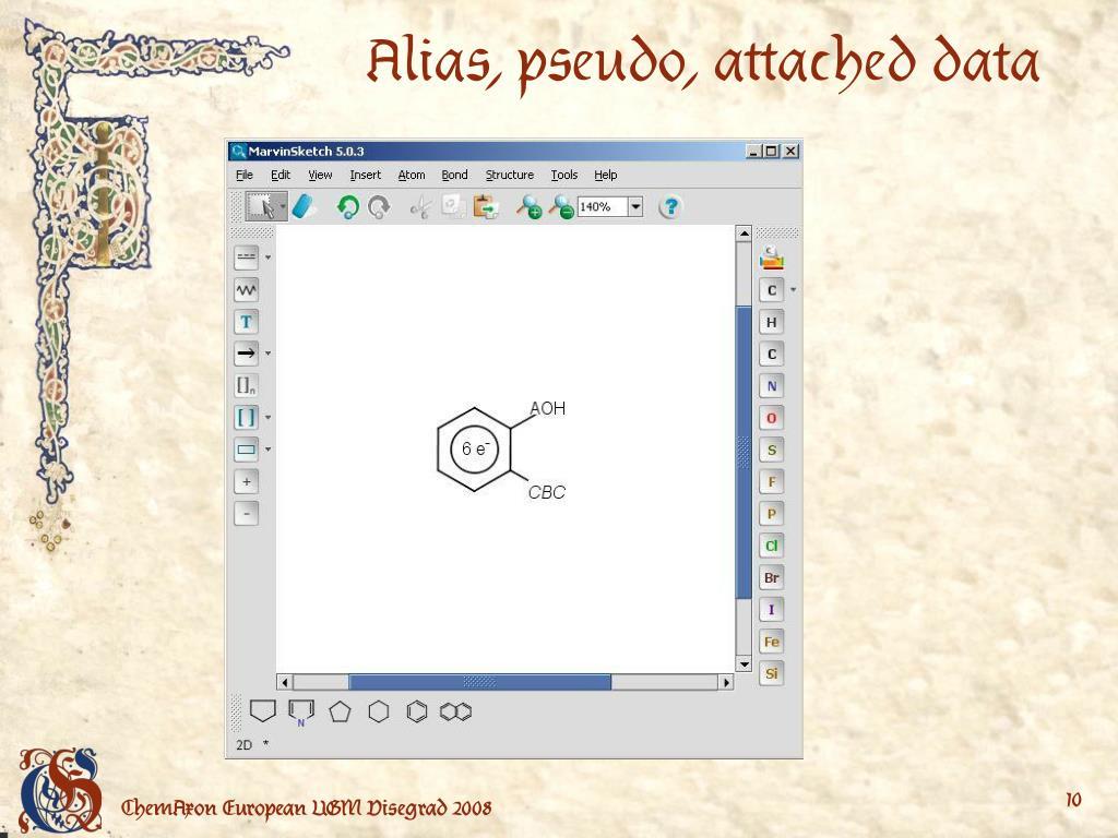 Alias, pseudo, attached data