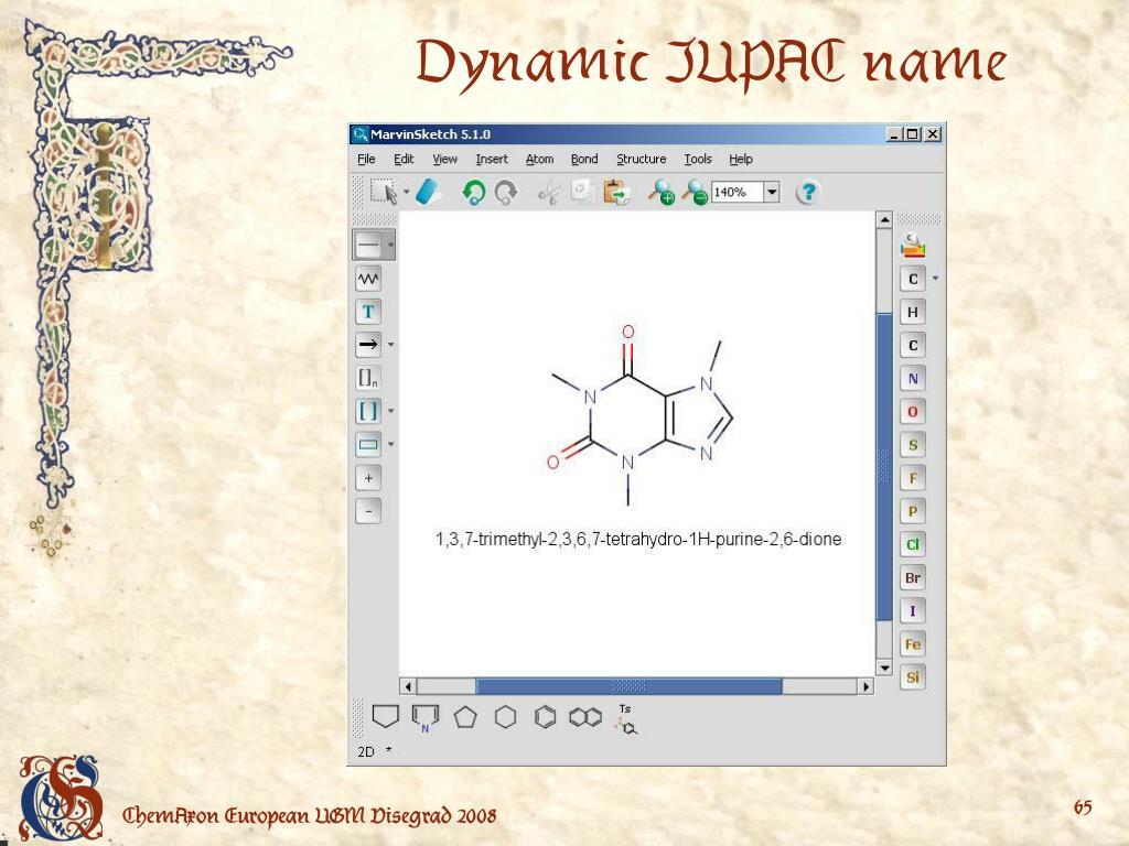 Dynamic IUPAC name