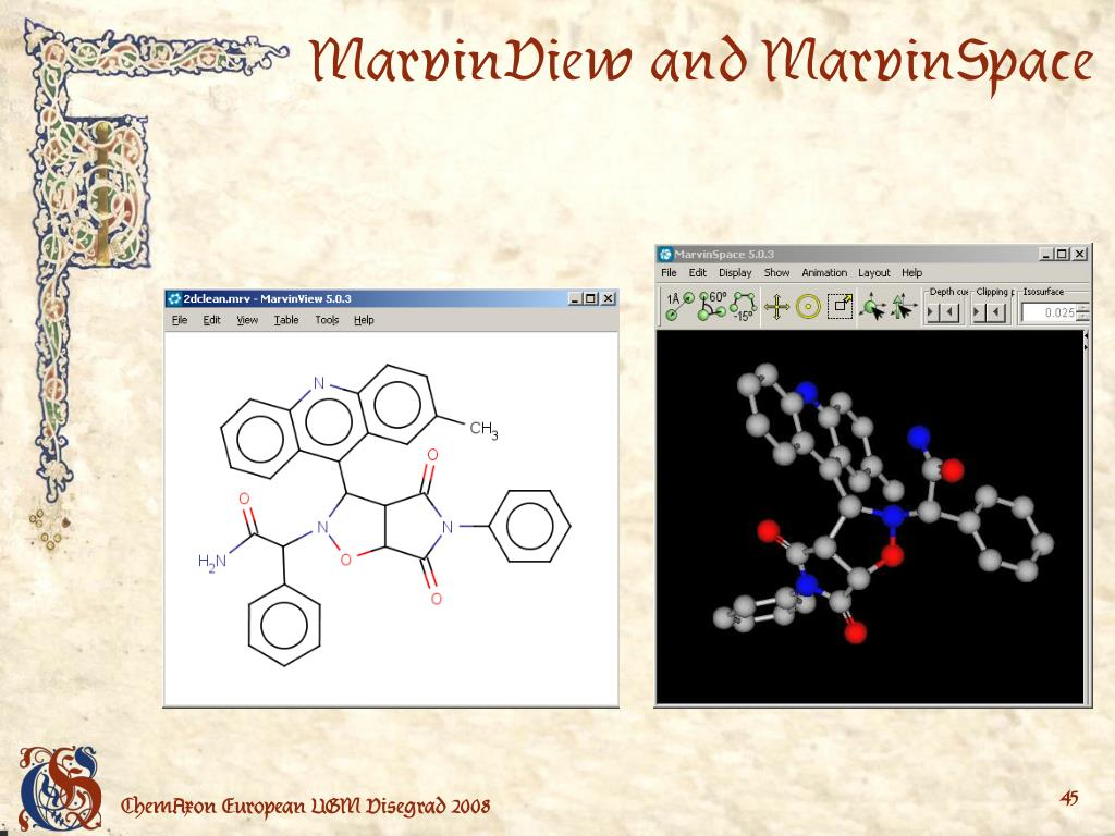 MarvinView and MarvinSpace