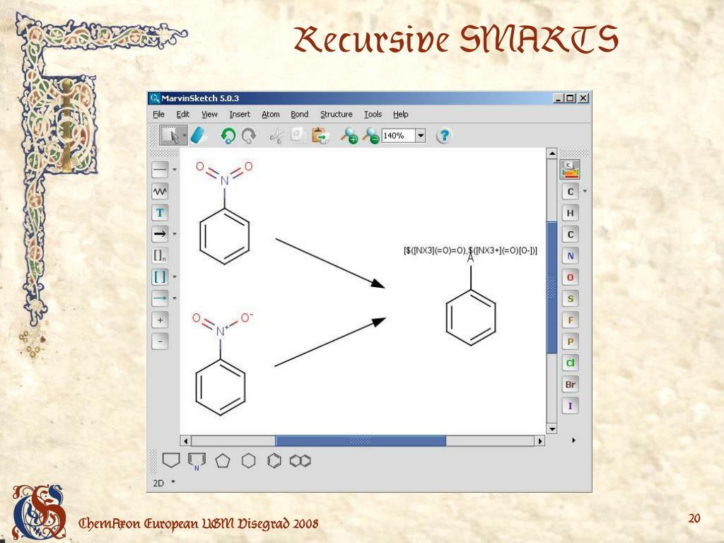 Recursive SMARTS