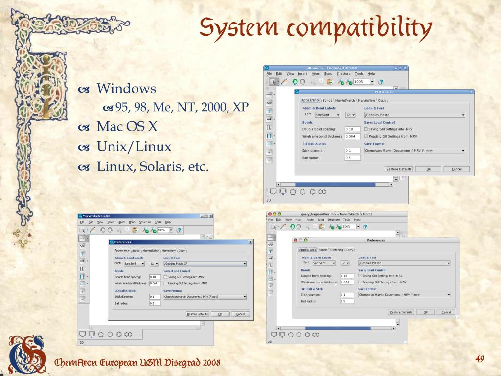 System compatibility