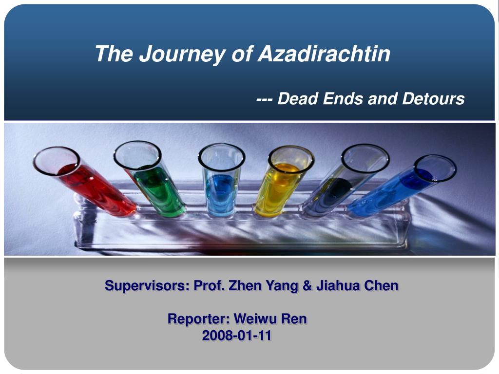 The Journey of Azadirachtin