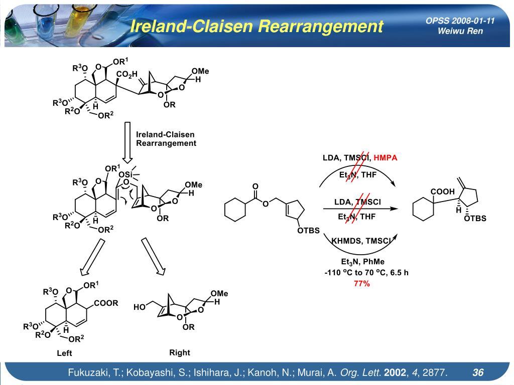 Ireland-Claisen Rearrangement